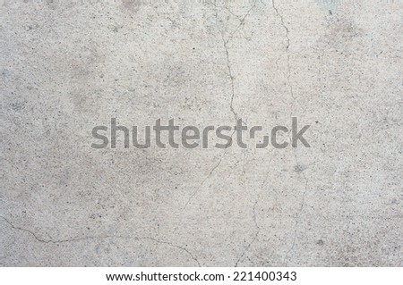 old concrete wall background with cracked - stock photo