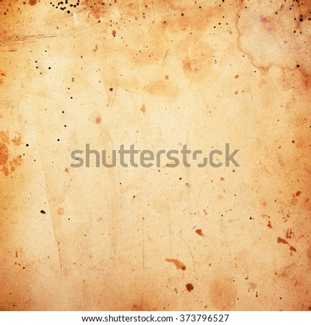 Old dirty parchment paper background - stock photo