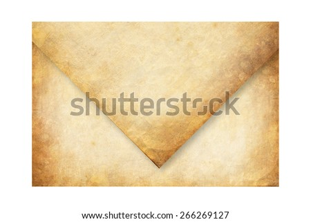Old envelope - stock photo