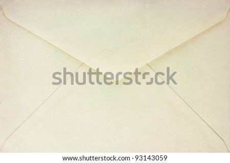 Old envelope - stock photo