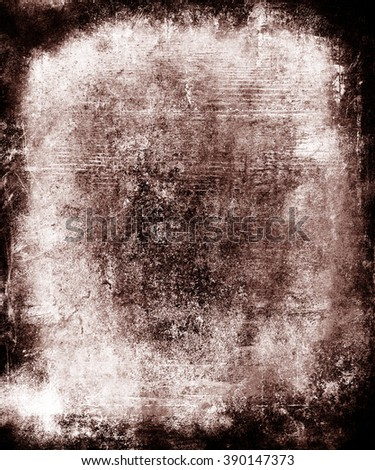 Old Faded Grunge  Background, Scary scratched texture - stock photo