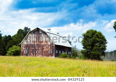 Old Farm - stock photo