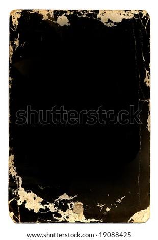 Old-fashioned photo frame - stock photo