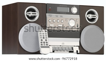 Old Fashioned Radio - stock photo