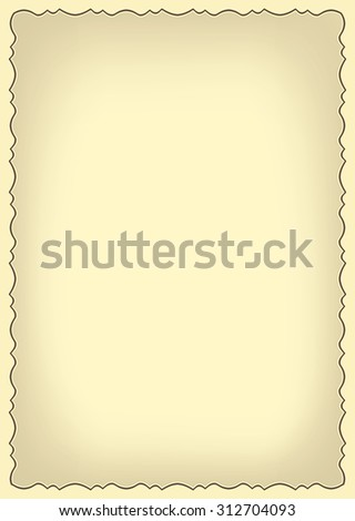 old frame with gradient - stock photo