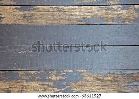 Old gray wooden planks background. - stock photo