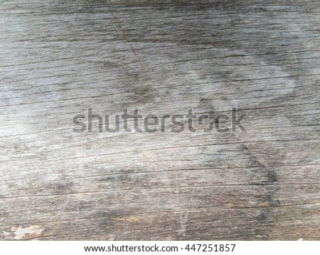 Old gray wooden wall background, vintage wood texture - stock photo
