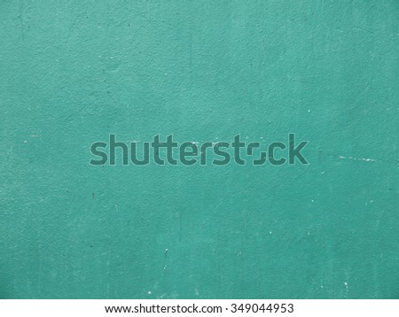 old green painted background or texture wall  - stock photo