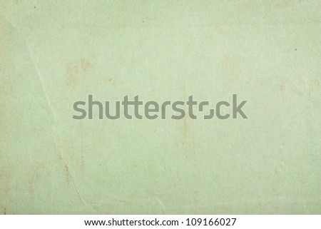 Old green paper texture for background - stock photo