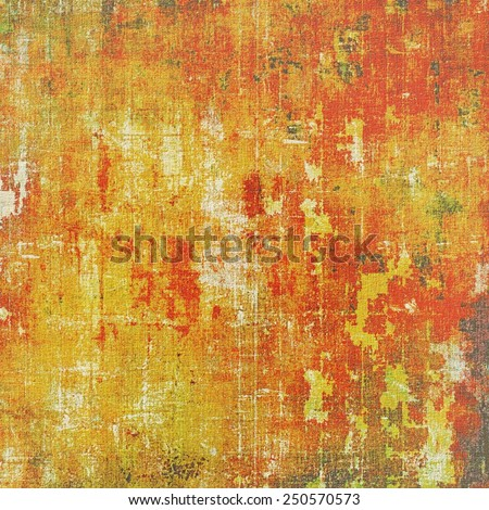 Old grunge antique texture. With different color patterns: yellow (beige); brown; red (orange) - stock photo