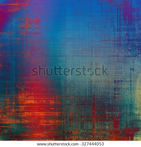 Old, grunge background texture. With different color patterns: blue; red (orange); pink; purple (violet) - stock photo