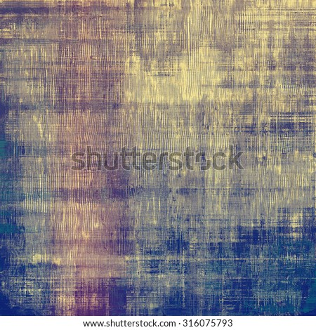 Old, grunge background texture. With different color patterns: yellow (beige); gray; blue; purple (violet) - stock photo