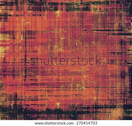 Old grunge template. With different color patterns: black; red (orange); purple (violet); pink - stock photo