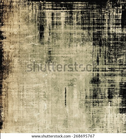 Old grunge template. With different color patterns: brown; gray; black - stock photo