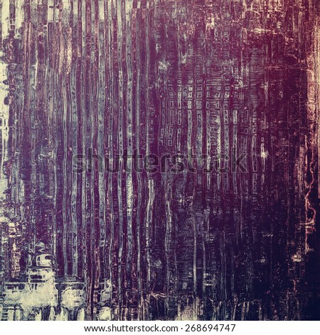 Old grunge textured background. With different color patterns: gray; purple (violet); blue - stock photo