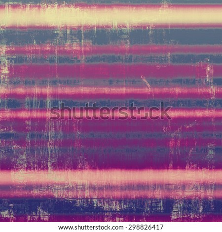 Old grunge textured background. With different color patterns: yellow (beige); gray; pink; purple (violet) - stock photo