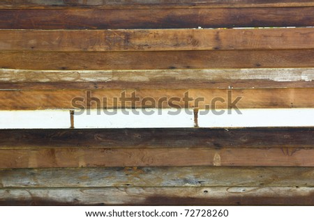 Old Grunge Wood Panels Background - stock photo