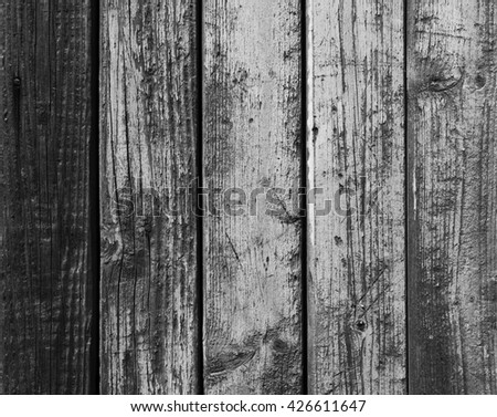 Old grunge wood texture for table top, floor or planks - stock photo