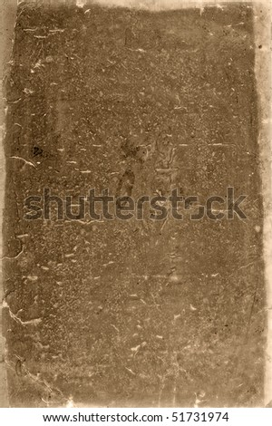 old grungy paper with stains - stock photo