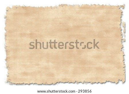 Old handmade paper . Good background and design element. - stock photo