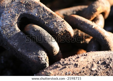 Old, heavy lifting equipment found on a construction site. - stock photo