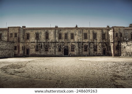 Old Historical Building - stock photo