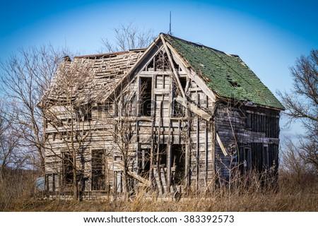 Old Homestead - stock photo