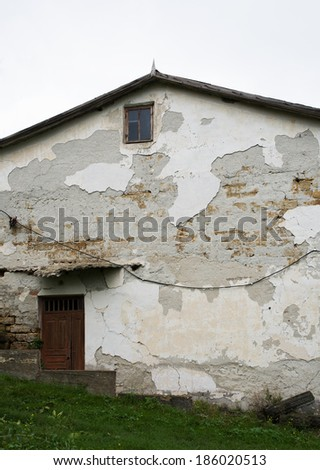 Old house . - stock photo