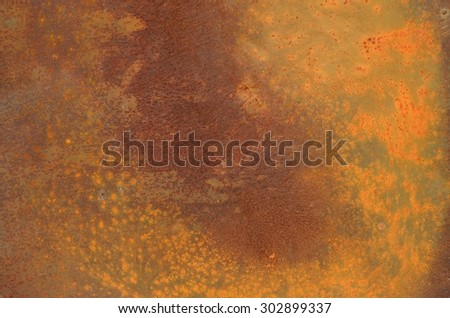 Old iron sheets rusty metal background - stock photo