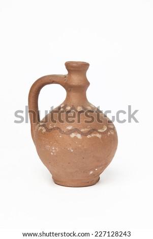 Old jug - stock photo