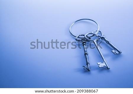 Old Keys - stock photo