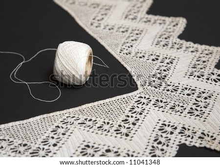 Old Lace - stock photo