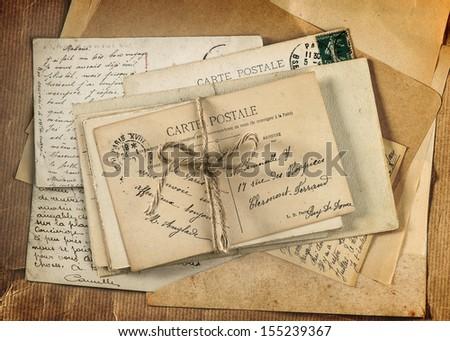 vintage letters postcards photographs - photo #7