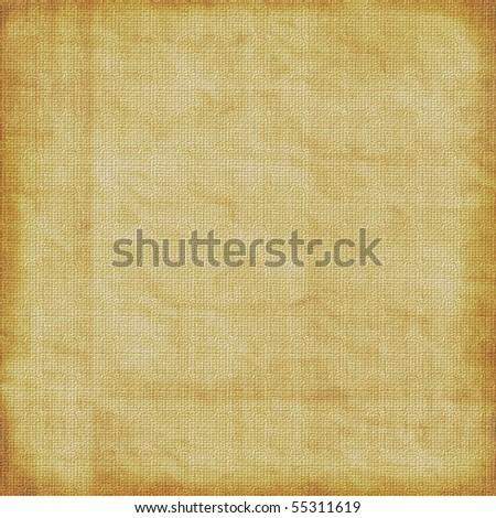 Old Light Burlap Paper - stock photo