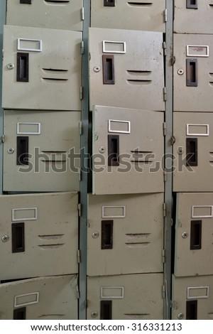 Old Locker - stock photo