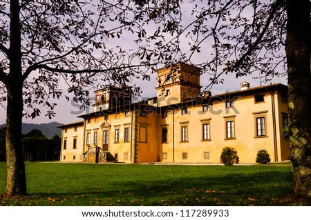 Old Lucca Manor - stock photo
