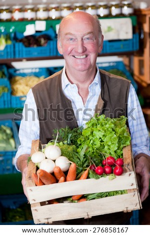 old man - stock photo