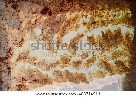 old metal iron rust background and texture - stock photo