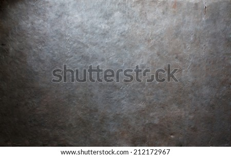 Old metal plate background - stock photo