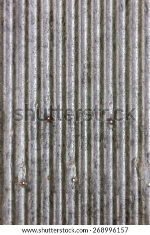 old metal sheet wall texture - stock photo