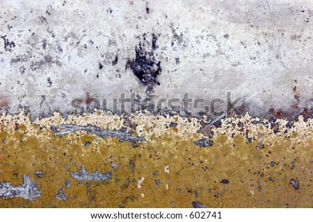 Old metal surface. - stock photo