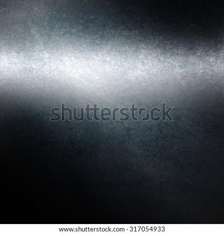 old metal texture background, dark navy blue steel industrial grunge background - stock photo