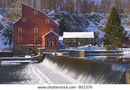 Old Mill - stock photo