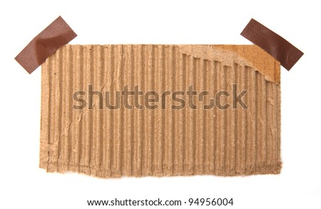 old note paper - stock photo