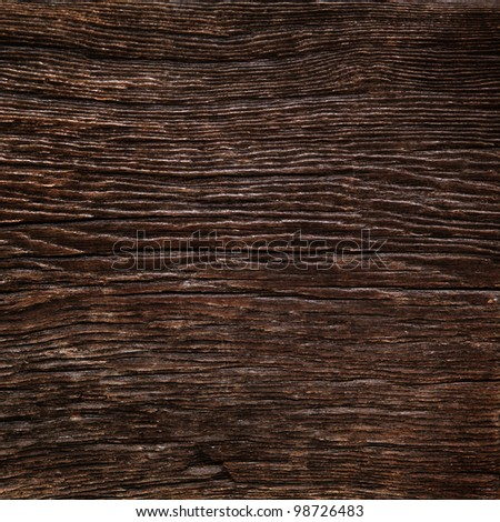 Old oak texture - stock photo