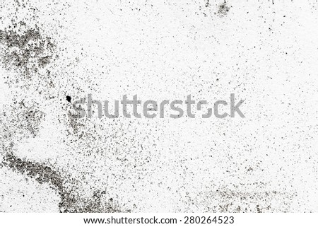 Old paint cracked wall - stock photo