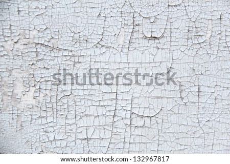 Old painted wood texture background - stock photo