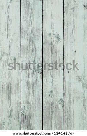 Old painted wooden wall texture - stock photo