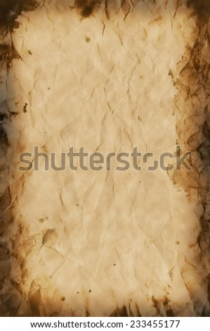 Old Paper Antique Vintage Texture or Background   - stock photo