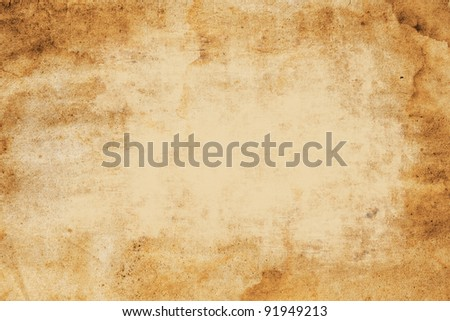 old paper background  with space for text - stock photo